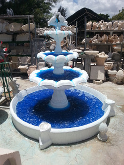Fountain with Pool