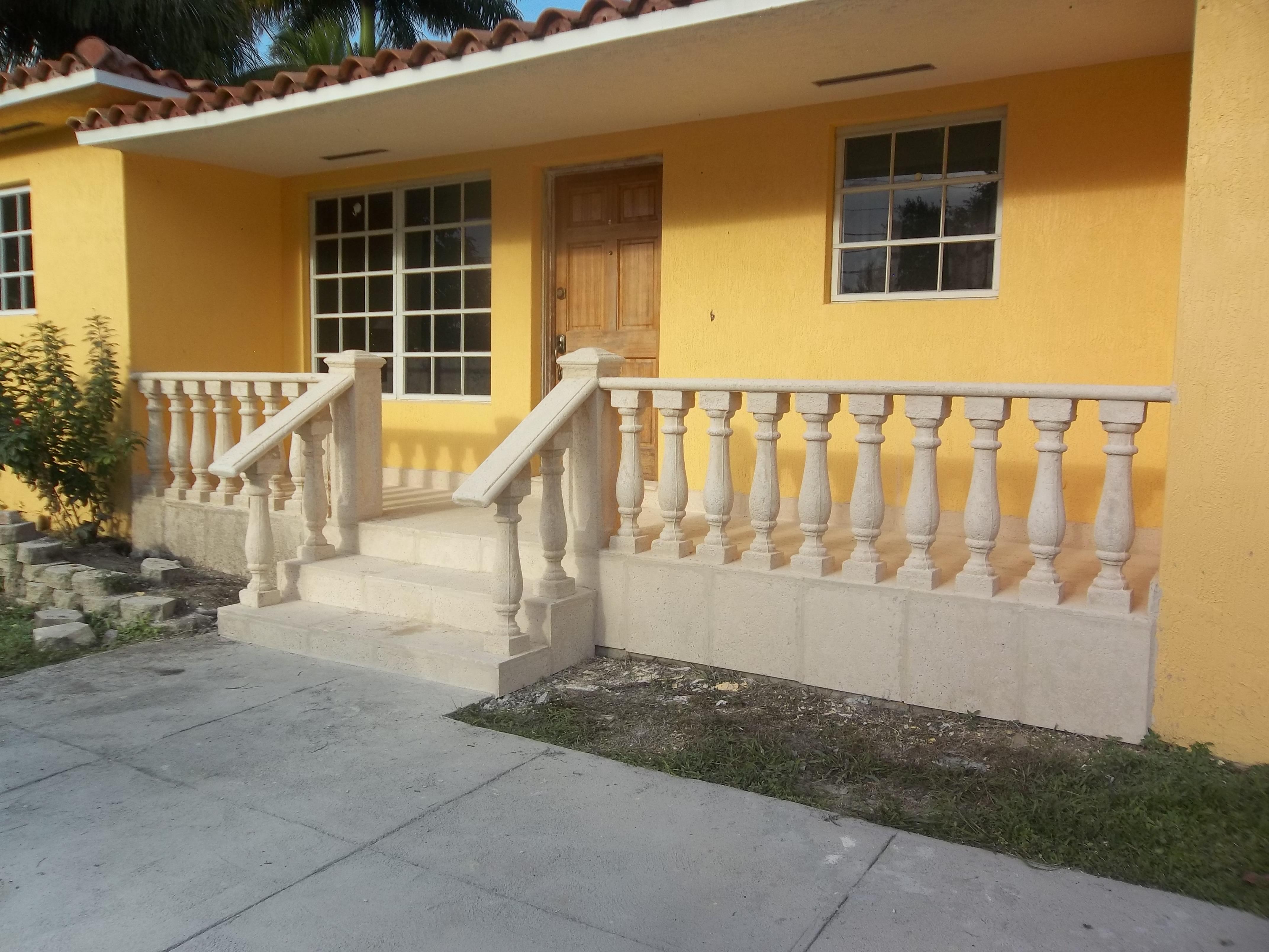 Handrails.