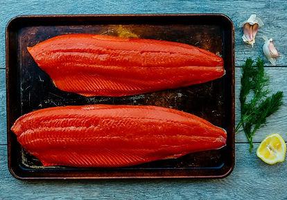 Wild Alaska salmon sockeye delicious sustainable