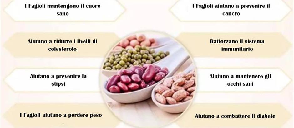 INFOGRAFICA: Benefici per la salute dei fagioli