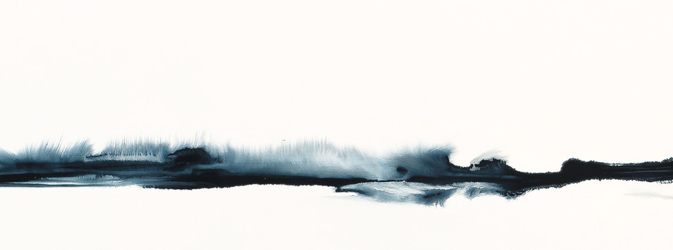 Indigo and White Reverb Painting.jpg
