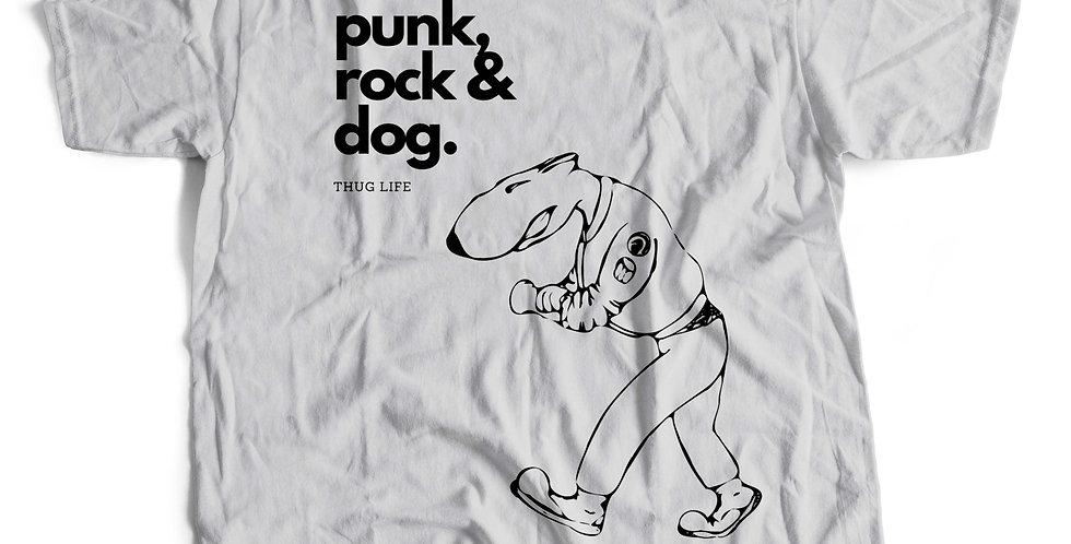 Camiseta Punk Rock & Dog