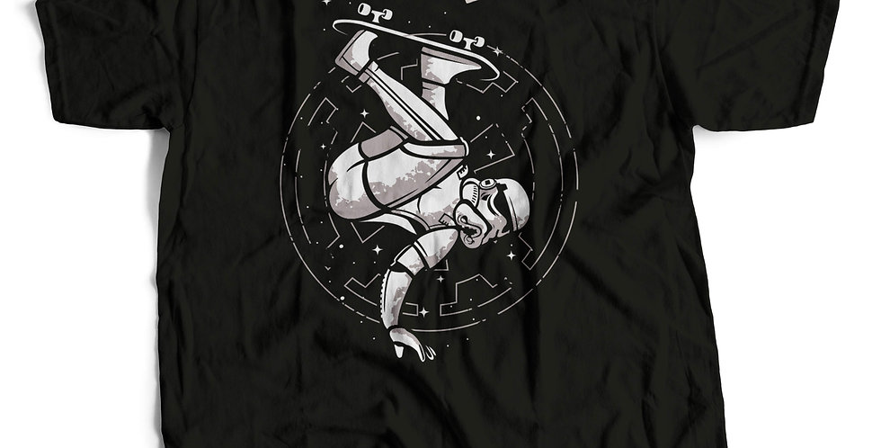 Camiseta Nerd SkateTrooper Frente