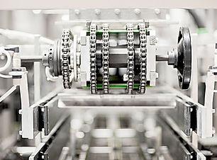 Maschine in der Fabrik