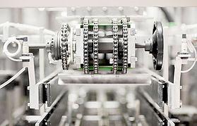 Máquina em fábrica