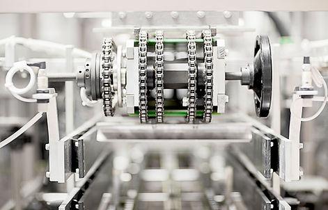 工場でのマシン