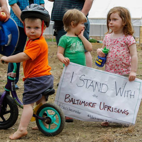 Appendix C: Kids at social justice rallies and protests