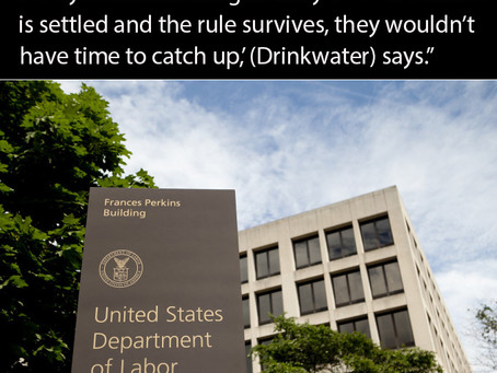 Are You Waiting for the New Fiduciary Rule to be Thrown Out?