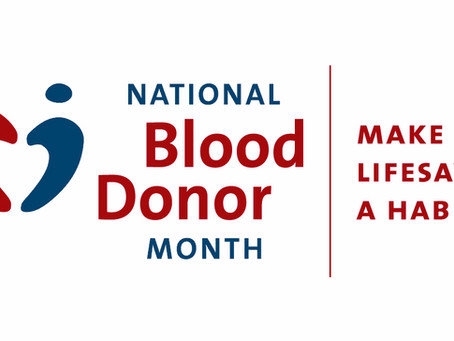 Sovereign Global Advisors takes Part in National Blood Donor Month