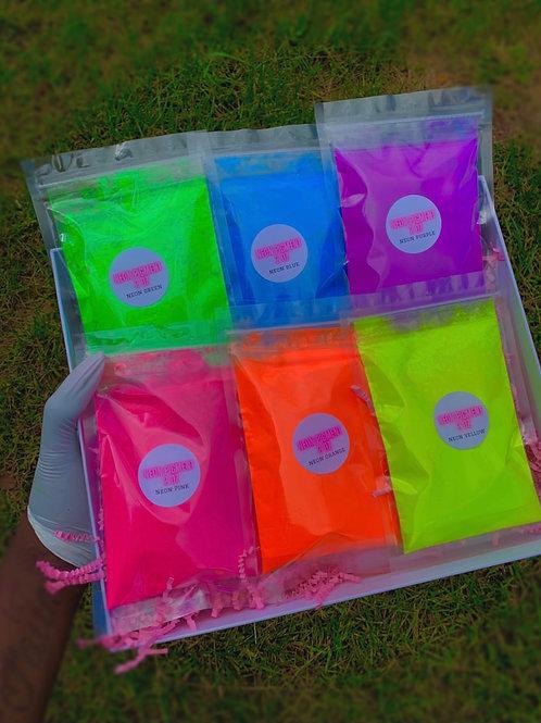 Neon bundle (2 oz per color)