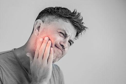 Toothache, medicine, health care concept