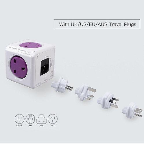 Allocacoc PowerCube Rewirable USB Travel Plugs