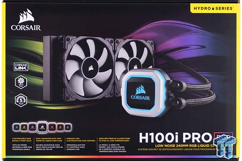 Corsair Liquid CPU Cooler H100i Pro