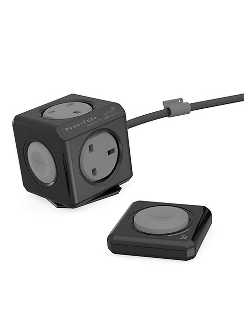 Allocacoc PowerCube 4 Power Outlets & Remote 1.5m cable