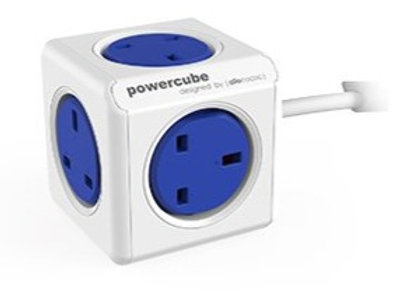 Allocacoc PowerCube 5 Power Outlets 3m cable