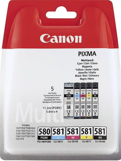 Canon Cartridge 580 & 581 Multipack