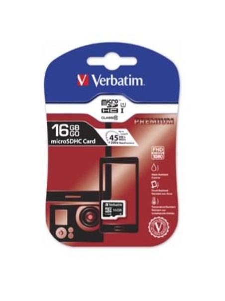 Verbatim Micro SDHC Card 16 GB