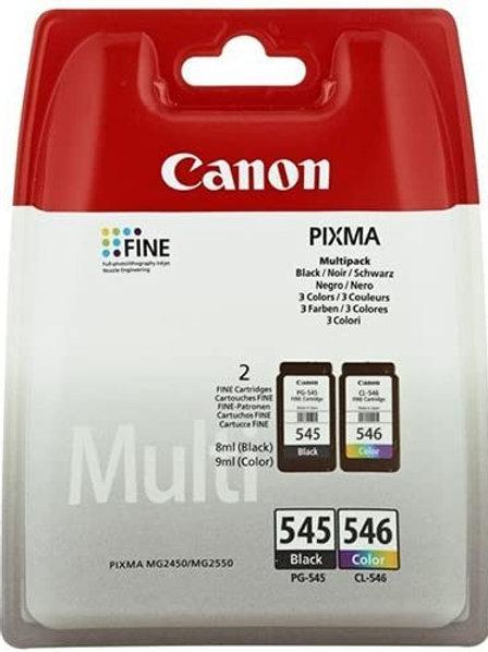 Canon Cartridge 545 & 546 Multipack