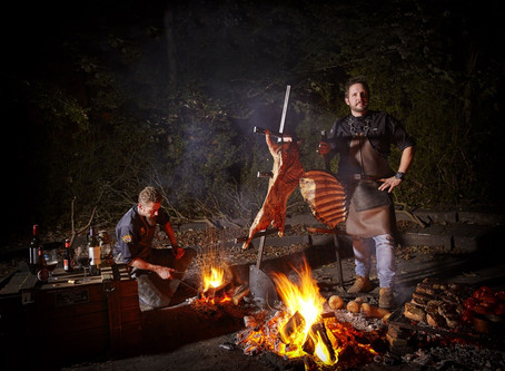 Smokey Goodness BBQ Village te gast bij East Nomads
