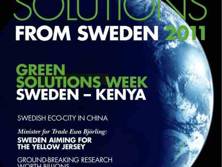CleanTech Region – Nytt inspirerande magasin om Svensk miljöteknik lanseras i Almedalen &#8211