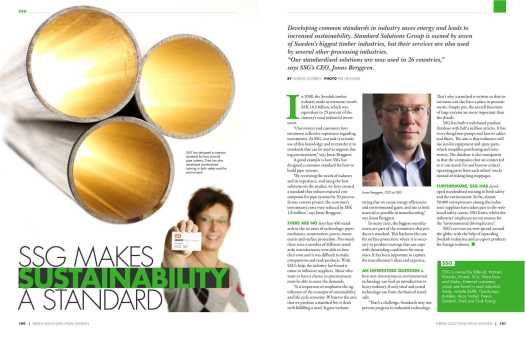 SSG makes sustainibility a standard