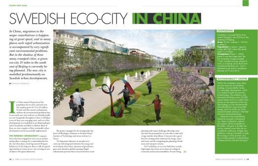Swedish Eco-city in China