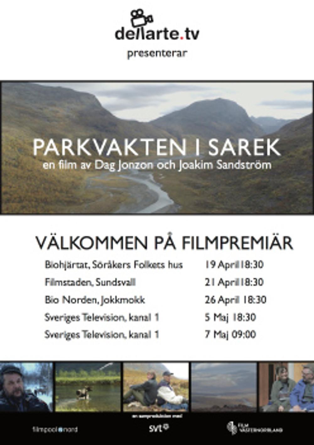 Parkvakten i Sarek-webb