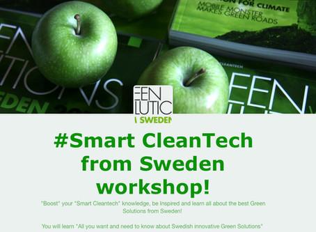 Smart CleanTech workshop!