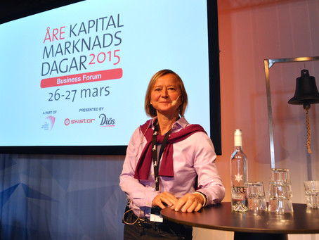 Anne Lidgard- why Silicon Valley has the attitude (Swedish)