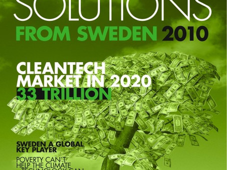 New Magazine – Green Solutions from Sweden volume 2, sneak-preview