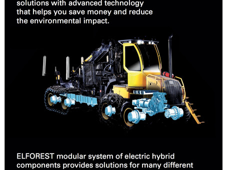 Elforest – The World's first Electric hybrid forest machine! Interview with CEO