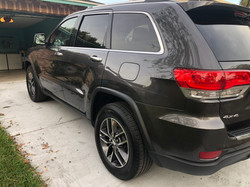 Jeep Cherokee Rear Quarter Panel Autobody Damage