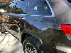 Jeep Cherokee Rear Quarter Panel Autobody Damage Repaired