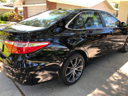 Honda Accord Rear Quarter Panel Autobody Damage
