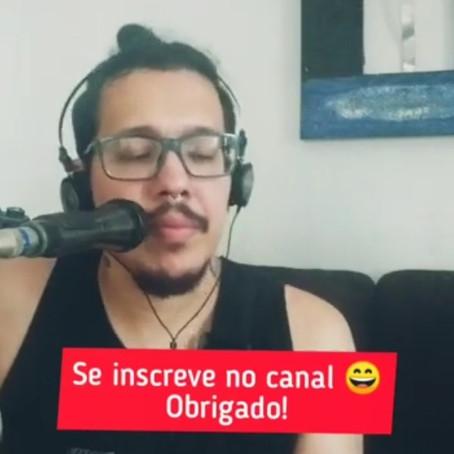 Cover da música Malandragem | Cantor Felipe Medeiros (Cantor voz e violão para casamento)