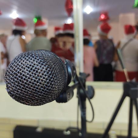 Música ao vivo no Lar São Judas Tadeu (em Pechincha, Jacarepaguá)