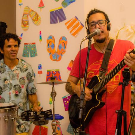 Registro de evento (cantores para festa no Rio de Janeiro)