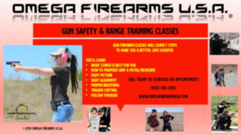 Firearms Traning At Omeg Firears U.S.A.