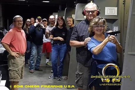 Firearms Training Class At Omega Firearms U.S.A.