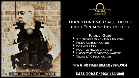 Tactical Self Defense, Firearms Training & Texas LTC (License To Carry) Classes