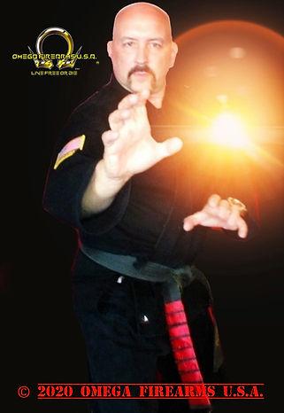 Omega Firearms U.S.A. Paul Gois 9th Degree Black Belt Master
