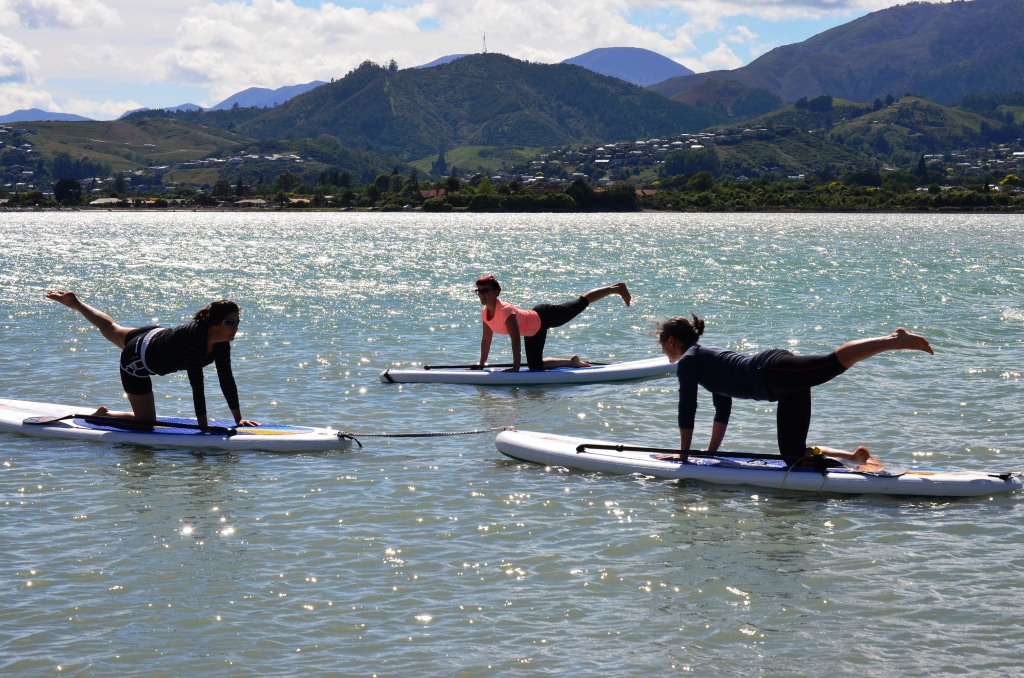 Stand Up Paddle Board (SUP) Yoga