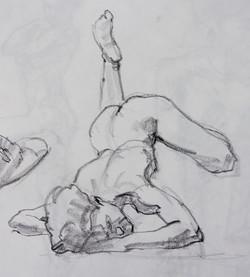 Gesture Prone Woman - Pencil