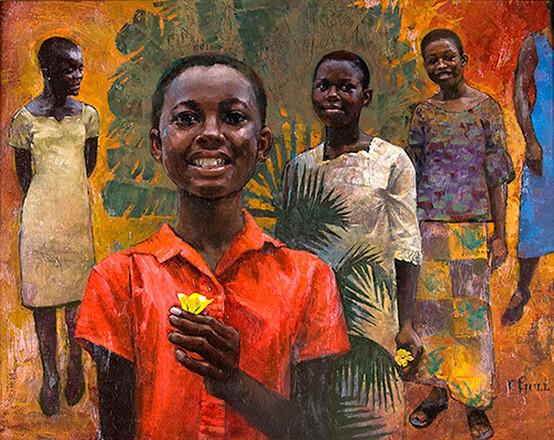 Young Women, Ghana