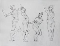 Gestures Standing - Pencil