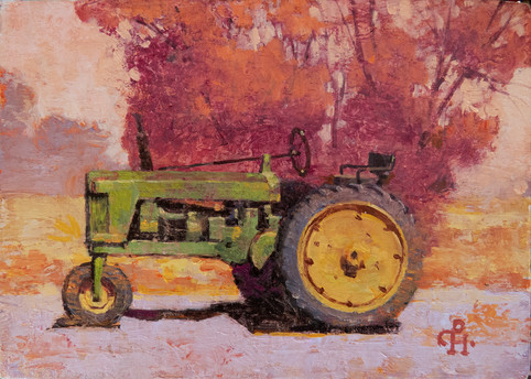 Old Tractor; Old Memories of Young Days