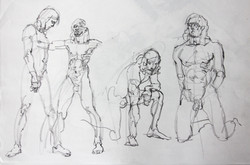 Gestures Man - Pencil