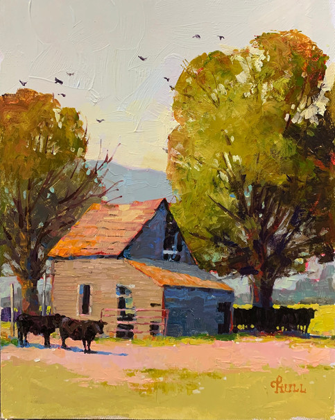Old Farmhouse, New Tenants