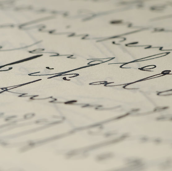 Escritura de la mano