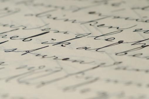 Schrijven van de hand